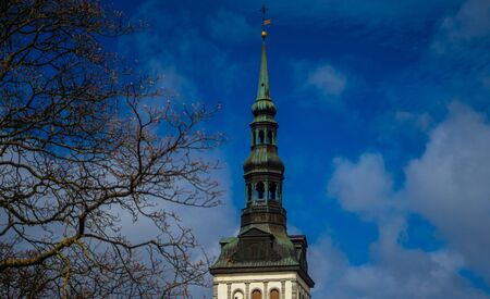 Swedish Church of St. Michael in Tallinn Stock Photo