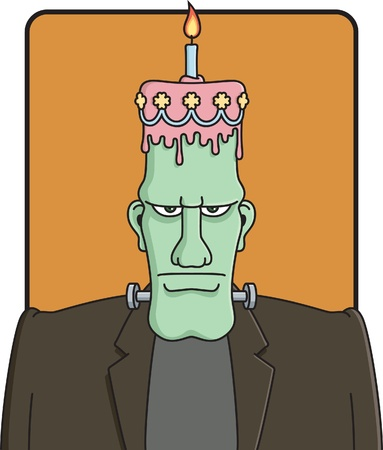 Frankenstein's Birthday Stock Vector - 11398769