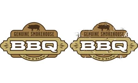 Barbecue symbol icon