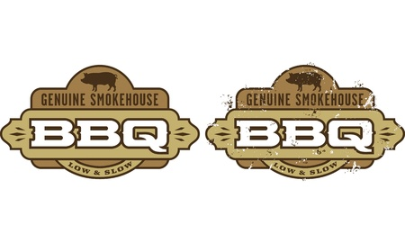 Barbecue symbol icon Vector