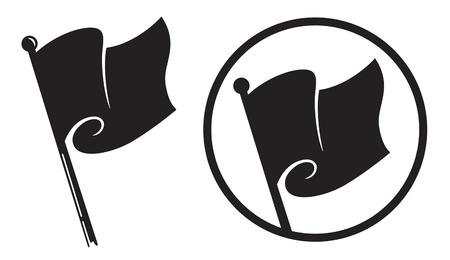 Black Flag Icons.
