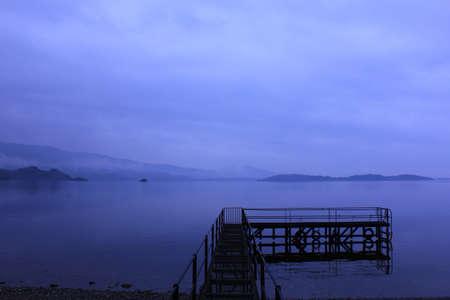 loch lomond: Foggy at Loch Lomond