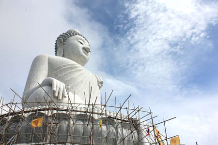 Big Buddha, Phuket, Thailand photo
