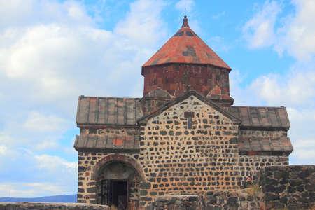 monastic: monastic complex Sevanank in Armenia Stock Photo