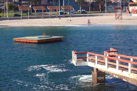 portada: central urban beach in Antofagasta, Chile
