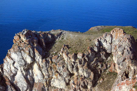 Olkhon is the biggest island on Baikal lake photo