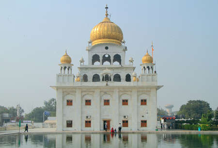 gurudwara: the temple of sikhs in Delhi, India