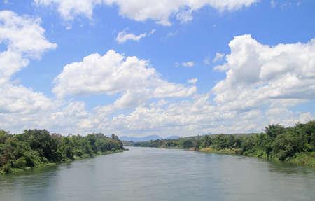 nearly: river Mekong nearly Vang Vieng, Lao republic