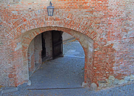 dry tortugas: one of entrance to Spilberk Castle in Brno, Czech