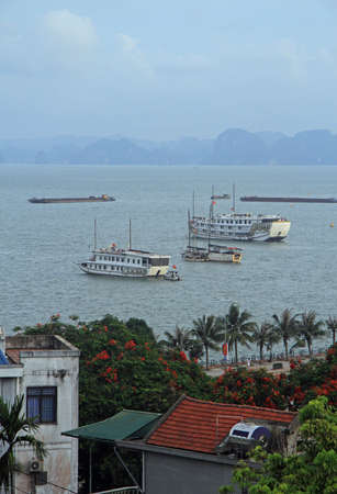 Ha Long city on the north of Vietnam