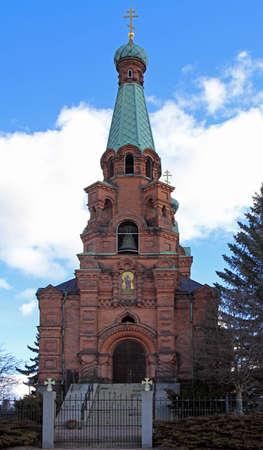 St. Alexander Nevski Orthodox church of Tampere