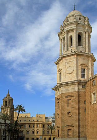 Cathedral of Santa Cruz in the spanish city Cadiz