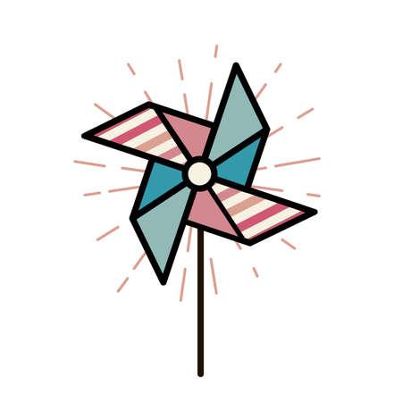 for children: Windmill for children Illustration