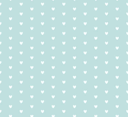 mint: Beautiful vector hearts pattern in mint colors