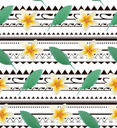 印刷夏季异国情调植物羽毛热带棕榈叶。模式,无缝的花卉传染媒介背景在部落的背景。它可用于布,背景,封面,桌布