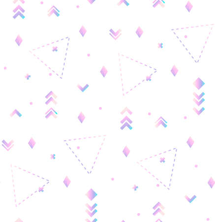 Abstract modern geometric seamles pattern Иллюстрация