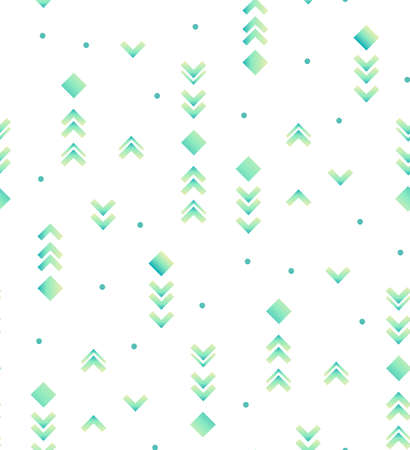 Hipster abstract seamless pattern in retro style.