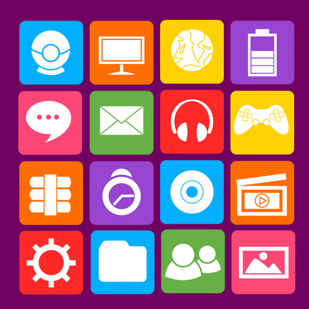 Computer Desktop Icon Vector
