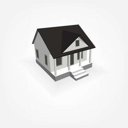 simple house: 3D Simple House