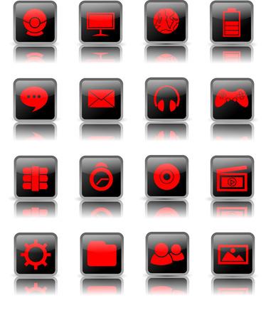 Shiny Desktop Icon Vector