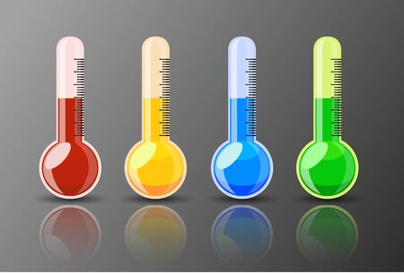 celcius: Shiny Colorful Thermometer