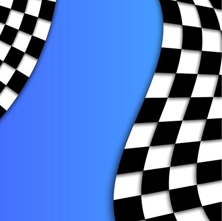 runaway: Racing bandera de vectores de fondo Dise�o
