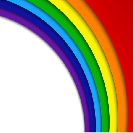 rainbow background: Abstract Rainbow Background Illustration