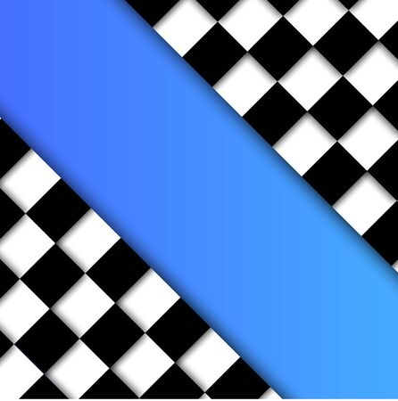 runaway: Racing Flag Vector Background Design