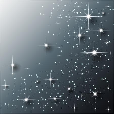 Elegante abstracte fonkelingsachtergrond Stock Illustratie