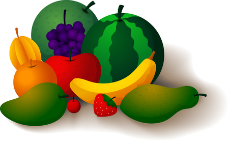 healthful: Fruits are refreshing and healthful