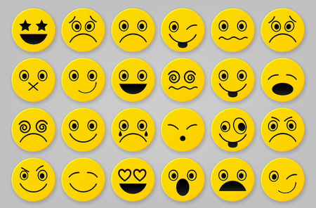 envy: Yellow smiley icon sets