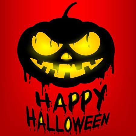 cocao: Happy Halloween with Jack o lantern pumpkin