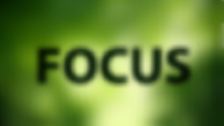 FOCUS blurred widescreen background