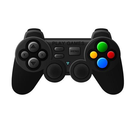 padding: Black joystick with diferent buttons