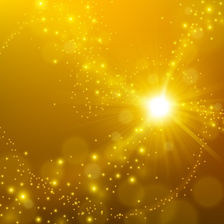 to shine: Abstract elegant gold shine background