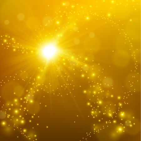 Abstract elegant gold shine background