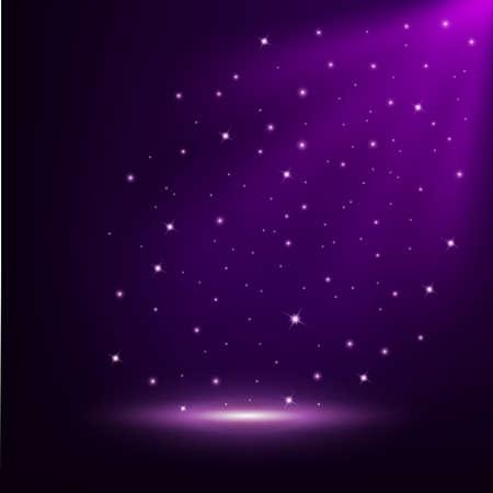 Violet licht glanzende achtergrond