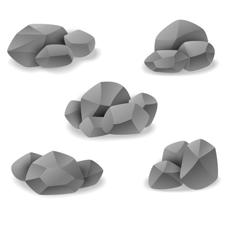cobble: Rock and stone art sets