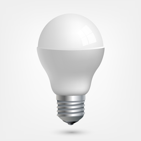 the light emitting: LED light emitting diode energy saving light bulb