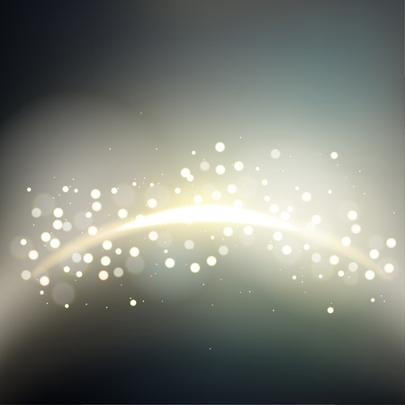 golden light: Golden light flare with blurred background