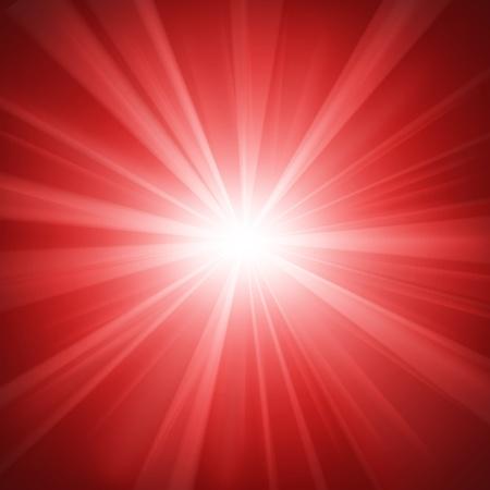 Illuminated red light background