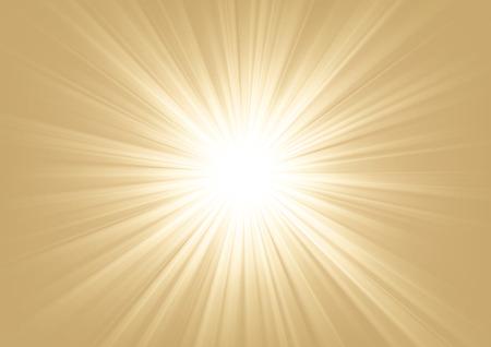 Light shining on bright background Vector illustration Illustration