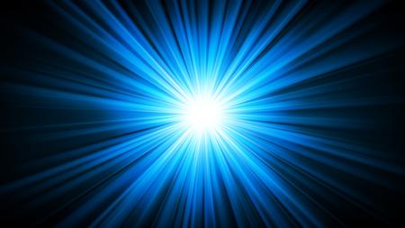 blue widescreen widescreen: Blue light shining from darkness 16:9 Aspect Ratio Vector illustration