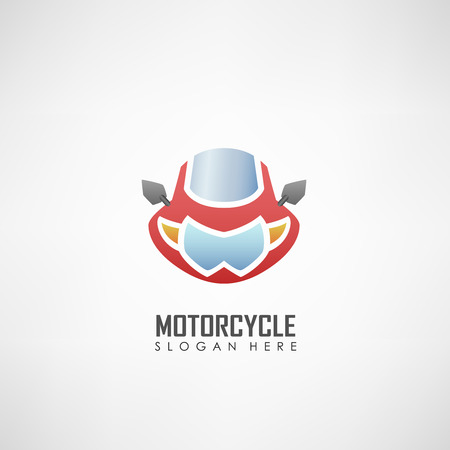 elite sport: Motorcycle club logotype, Suitable for motor clubs, motor sport, and other. Vector illustration Illustration