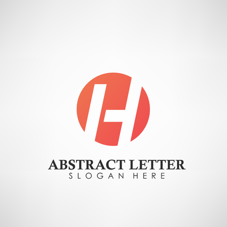 Abstract Letter H logotype. Suitable for trademarks, company logo, and other. Vector Illustration