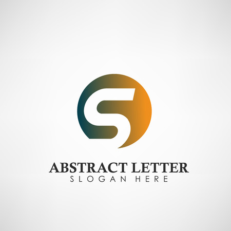Abstract Letter S logotype. Suitable for trademarks, company logo, and other. Vector Illustration