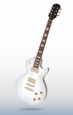 fingerboard: Vector electric guitar