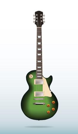 Vector electric guitar Banco de Imagens - 50467385
