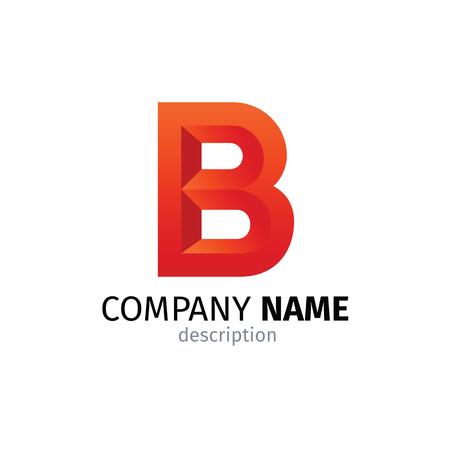 Letter B logo icon design template elements 矢量图像