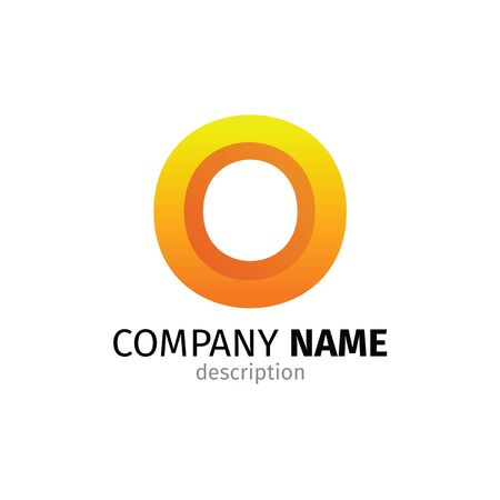 Letter O logo icon design template elements 矢量图像